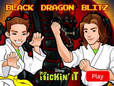 Kickin' It - Black Dragon Blitz