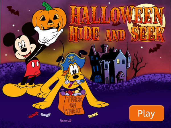 Mickey and Friends - Halloween Hide n' Seek