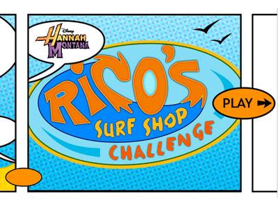 Surf Shack Logo Rico's Surf Shop | Disney