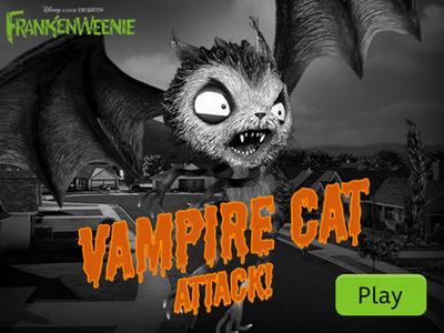 Frankenweenie: Vampire Cat Attack