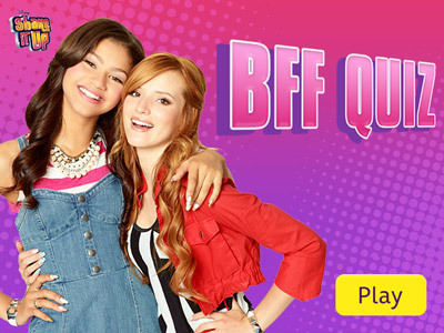 Shake It Up - BFF Quiz