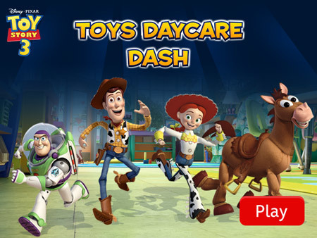 Toy Story 3 - Day Care Dash