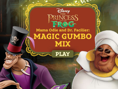 The Princess and the Frog - Mama Odie's Magic Gumbo Mix