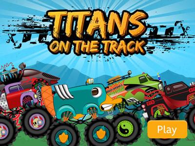 Disney XD - Titans on the Track