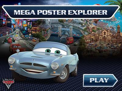 Cars - Mega Poster