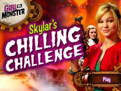 Girl vs. Monster: Skylar's Chilling Challenge