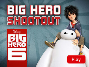 Big Hero 6: Big Hero Shootout
