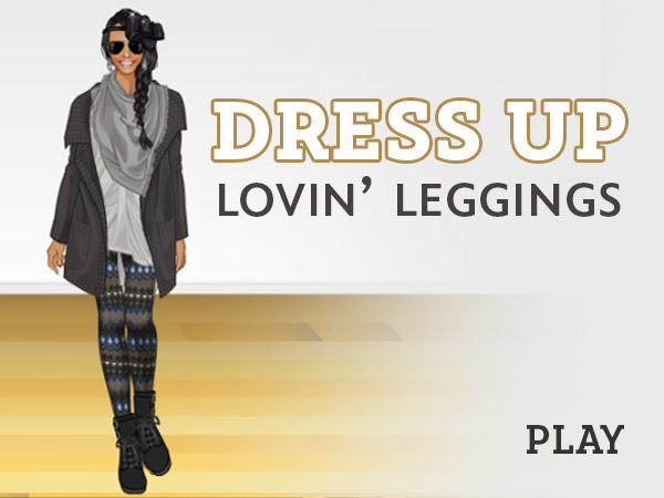 Dress Up: Lovin' Leggings