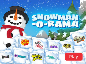 Disney Channel - Snowman-O-Rama
