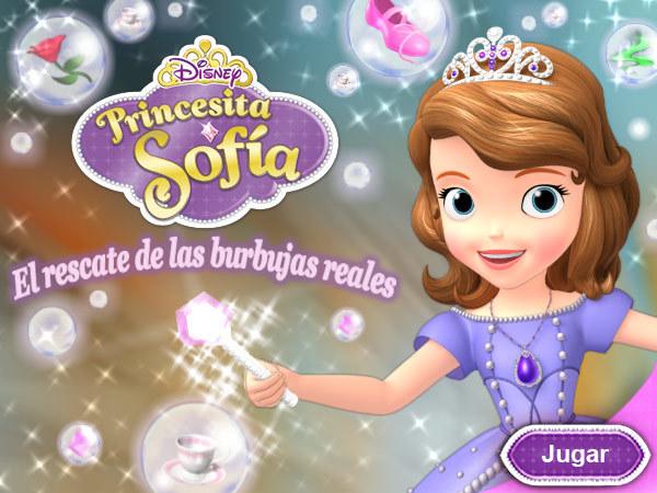Princesita Sofía - El rescate de las burbujas reales
