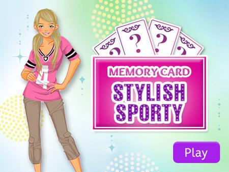 Memory Card: Stylish Sporty
