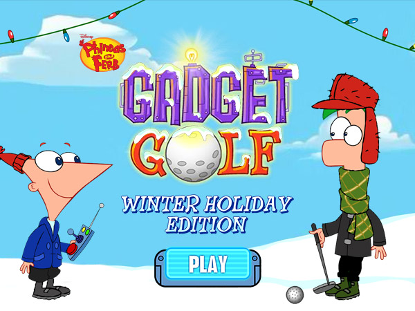 Gadget Golf | Phineas and Ferb Wiki | Fandom