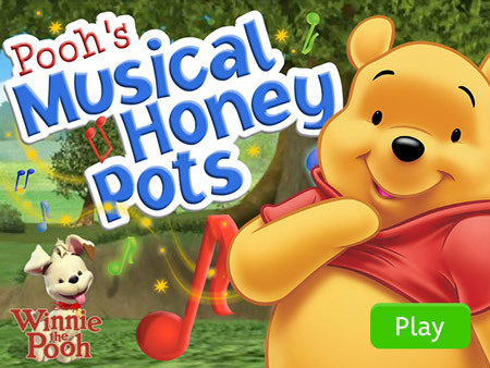 Winnie the Pooh - Pooh's Musical Honey Pots