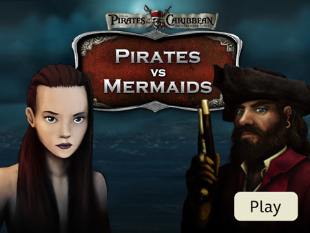 Pirates of the Caribbean - Pirates vs. Mermaids