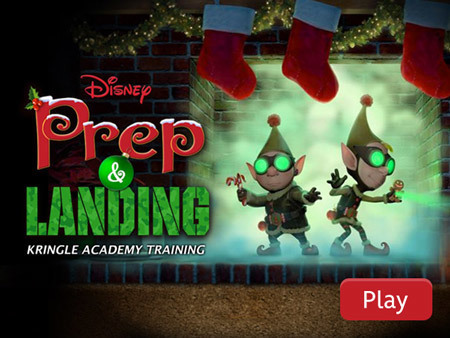 Prep and Landing - Kringle Academy Training