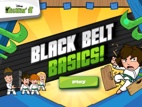 Kickin' It - Black Belt Basics