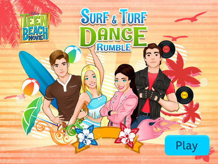 Teen Beach Movie - Surf & Turf Dance Rumble