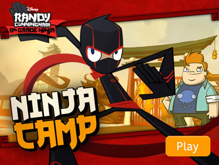 Randy Cunningham - Ninja Camp