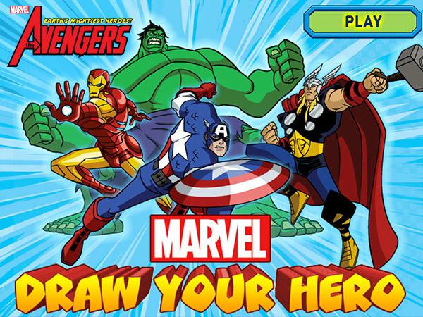 Marvel - Draw Your Hero
