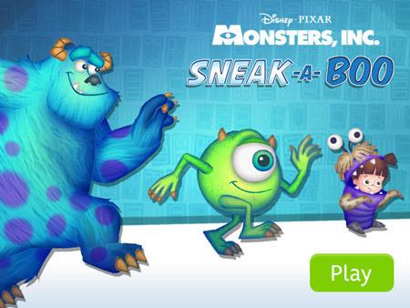 Monster's Inc. - Sneak a Boo