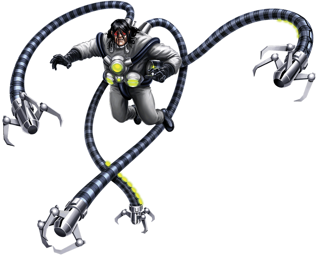 doctor octopus spiderman characters marvel kids