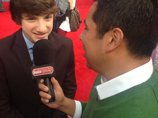 Jake Short at Muppets Most Wanted