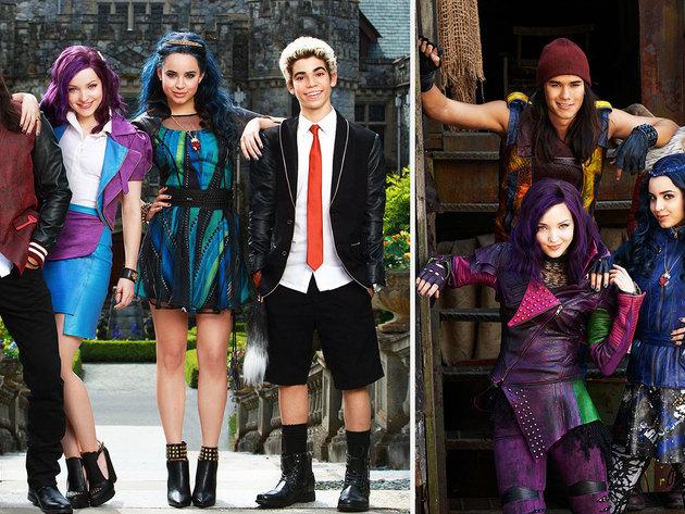 Los Descendientes Fotos E Im 225 Genes Disney Channel Espa 241 A