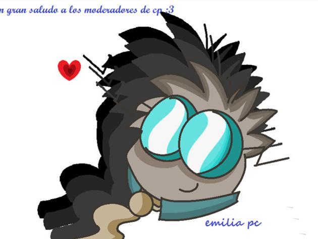 Emilia PC - ¡Qué lindo corazón! Ah, ¡y tus saludos fueron dados!