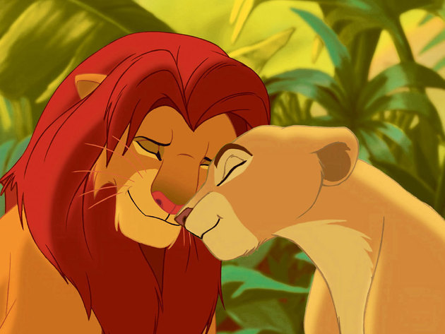 These childhood friends found each other again as adult lions and fell in love.