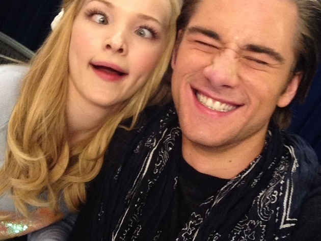 "Dove Cameron & Luke Benward from Disney Channel's ""Cloud 9"""