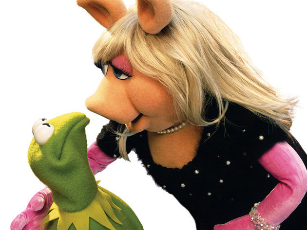 """""""He tries so desperately to hide his love for me"""" - Miss Piggy"""