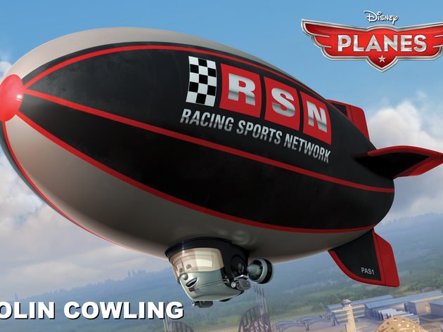 Affable blimp Colin Cowling attended the prestigious Zeppelin Broadcasting School and began his c...