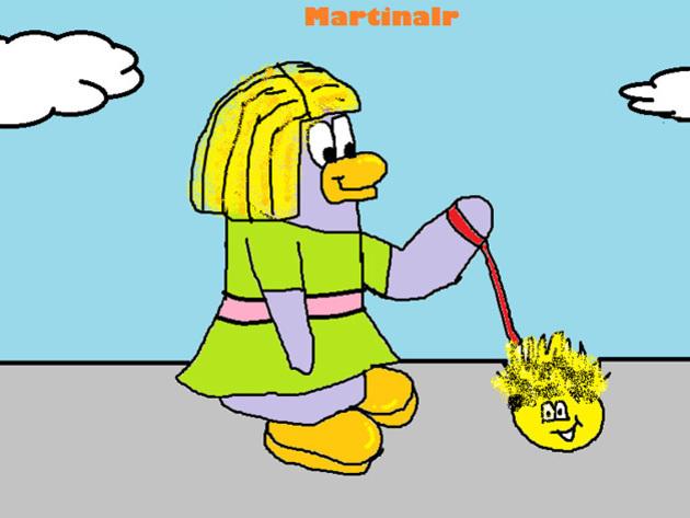 Martinalr - ¡Seguro que este fue un gran paseo pufflístico!
