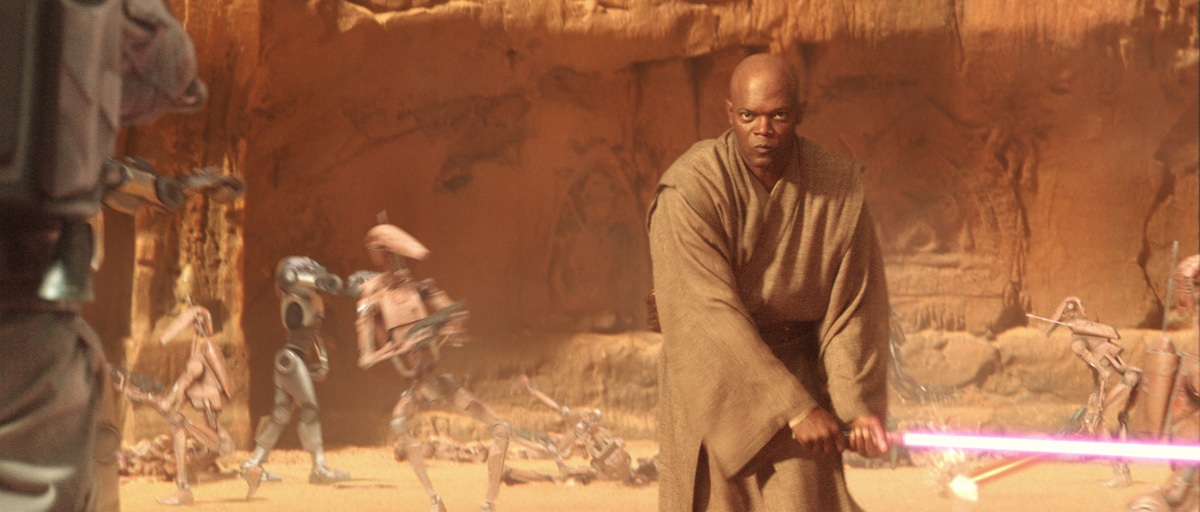 Image result for attack of the clones mace windu