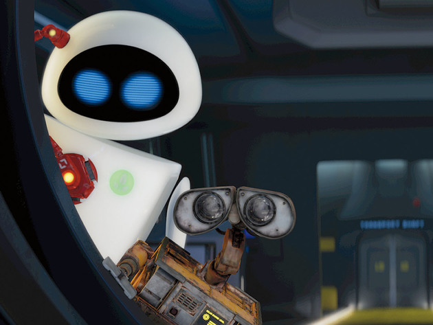 WALL•E and EVE: on a mission.