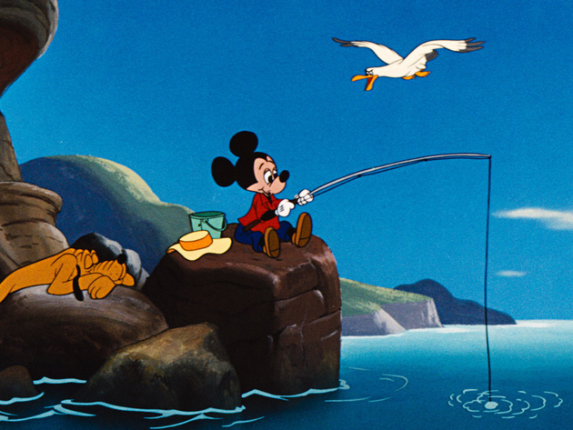 Mickey enjoys the finer things in life.