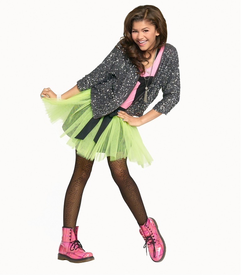 Zendaya Fashion Feature Gallery Disney Channel