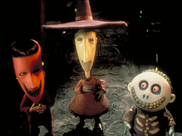 Oogie's kids aren't the trick-or-treaters you'd like to find at your front door.