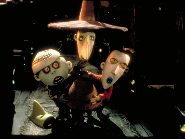 The only person who can scare these three troublemakers is Jack Skellington himself!