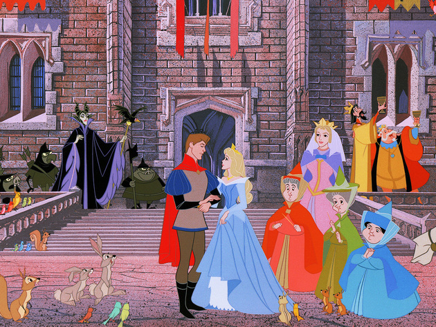 With all of their friends around them, Prince Phillip and Princess Aurora prepared for a life of ...