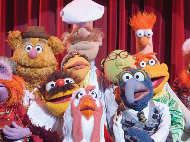 The whole gang reunites to save the Muppets Studios.