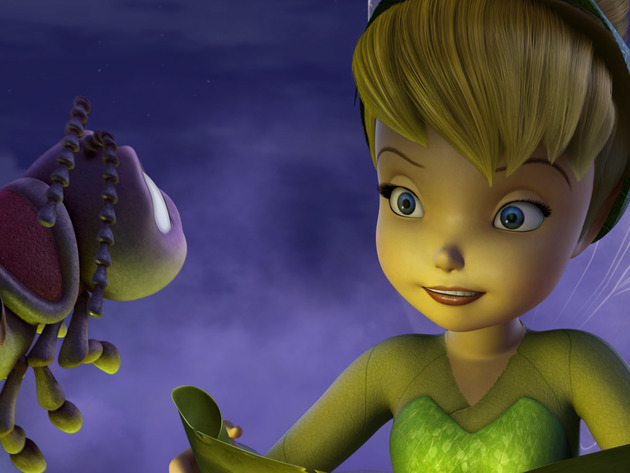 Tink meets firefly Blaze who helps light their journey.