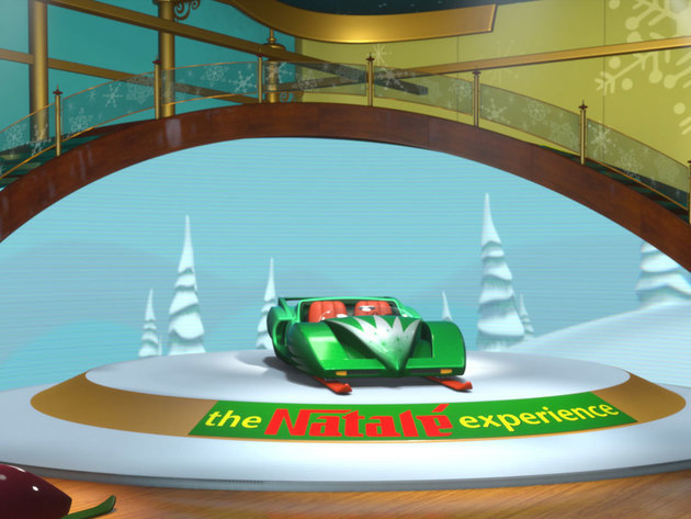 Located just off the holly jolly bridge in elfville, sorenson's snowmobile emporium is the first ...