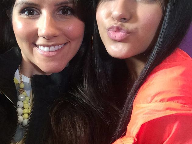 Becky G and Candice