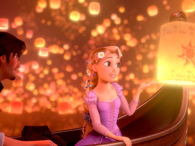 Finally seeing the lanterns gives Rapunzel the feeling of a dream come true.