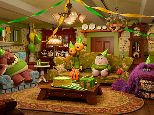 When the Oozma Kappa fraternity brothers throw their first party and no one shows up, Mike and Su...