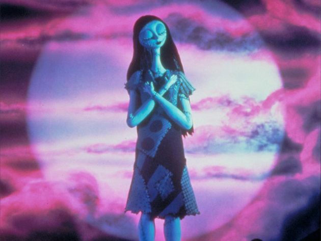Sally has a vision that bringing Christmas to Halloween Town will be disastrous.