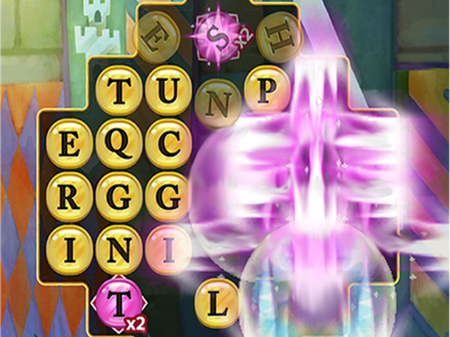 Create combos to unlock stunning Word Bursts!