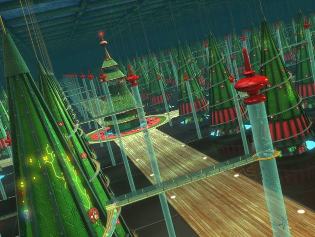 The brainchild of the brilliant Mr. Thistleton, the database tree farm is a sprawling underground...