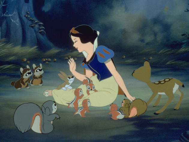Snow White believes in being kind to all creatures.